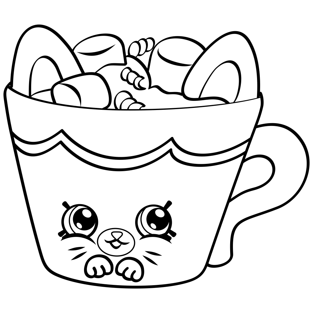 Print Shopkins Coloring Pages Printable | Free Coloring Sheets