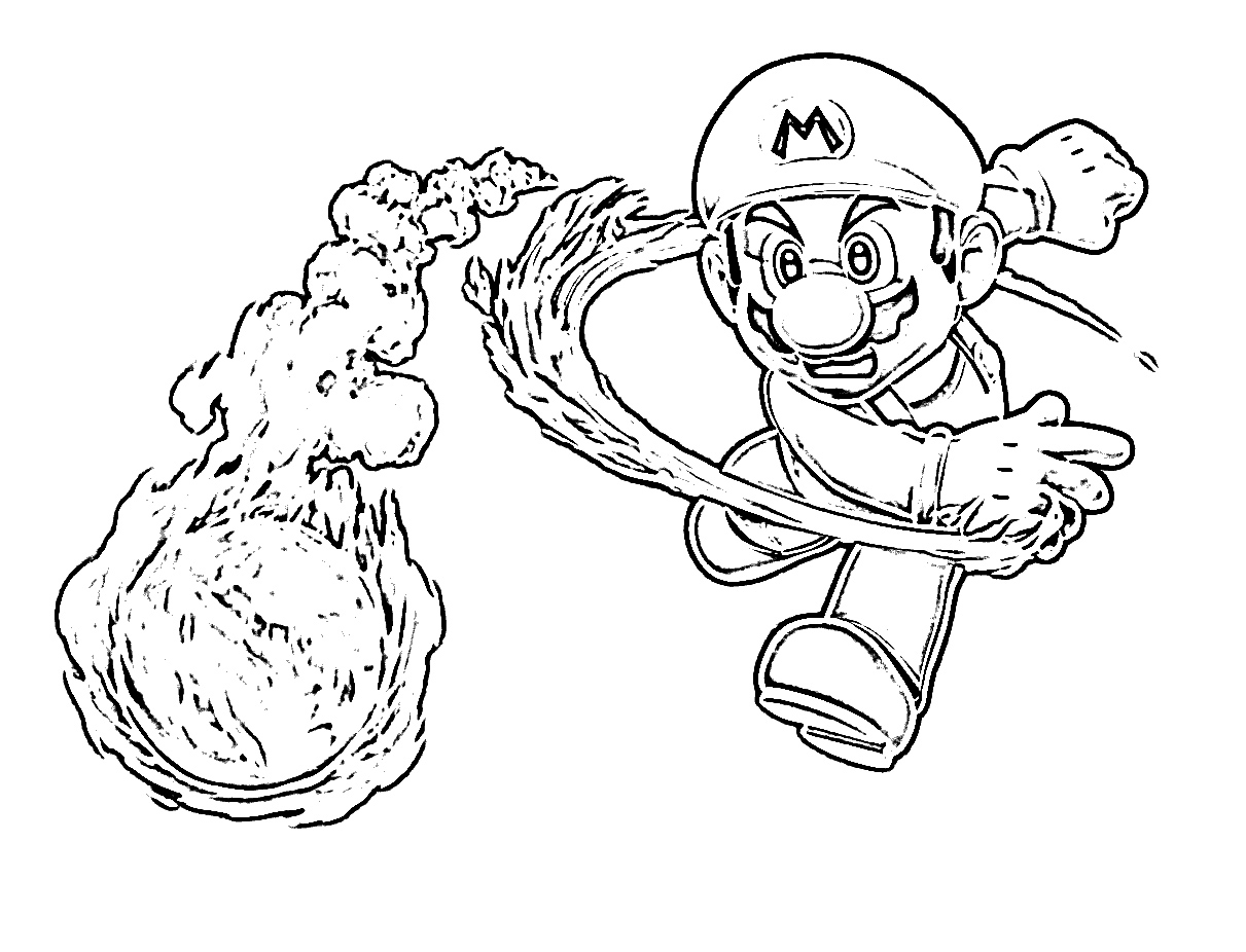 Best Super Mario Coloring Pages to Print and Color Collection Collection Of Super Mario Coloring Pages Bonnieleepanda Gallery