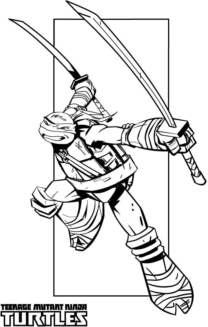 Best Tmnt Coloring Pages Nick Ninja Turtle Teenage Mutant Collection Of Ninja  Turtle Coloring Pages To
