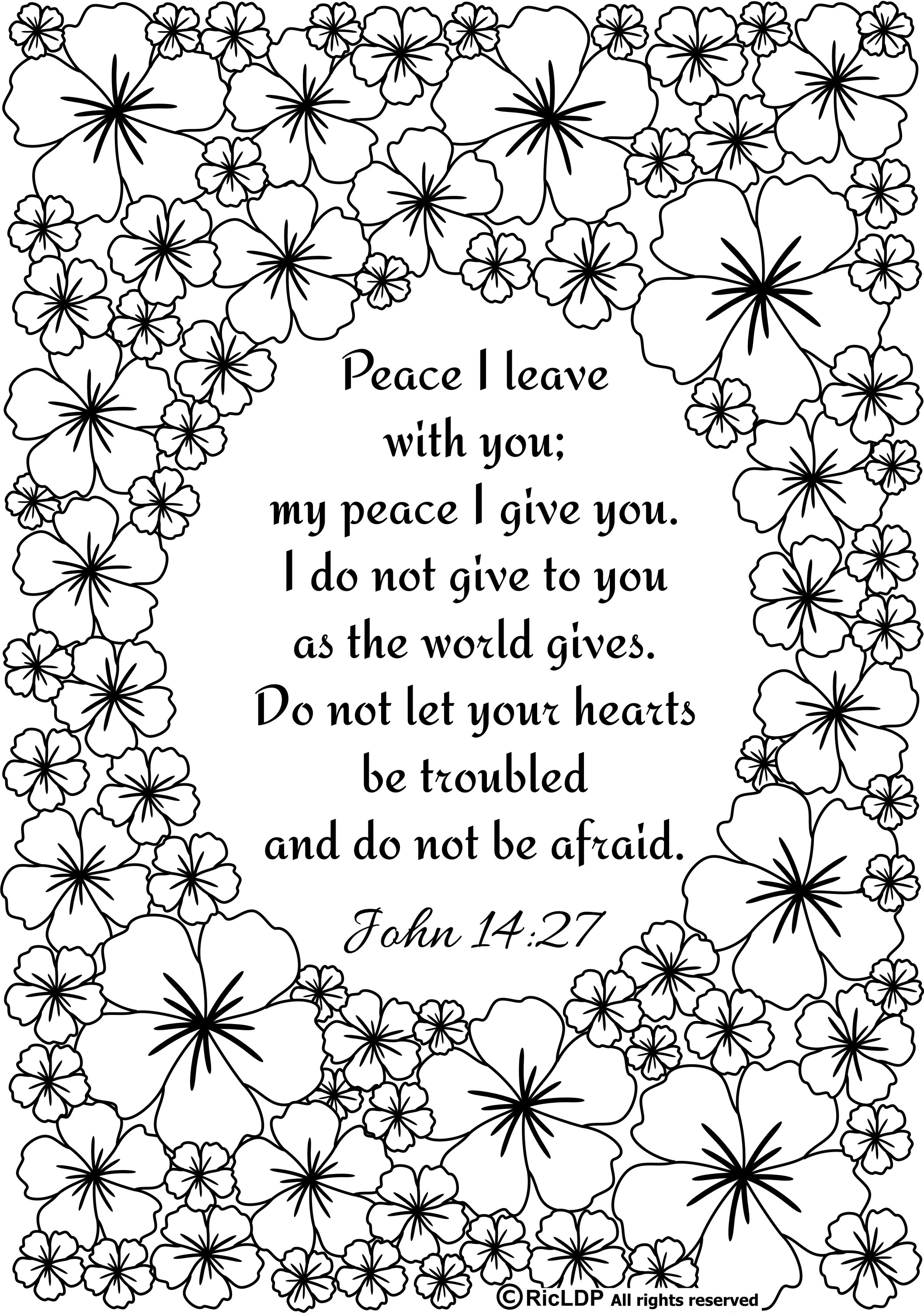 Free Scripture Coloring Pages Download 1n - Save it to your computer