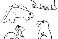 Dinosaurs Coloring Pages - Big Dinasour Coloring Pages Beautiful Dinosaur Preschool Fo Gallery