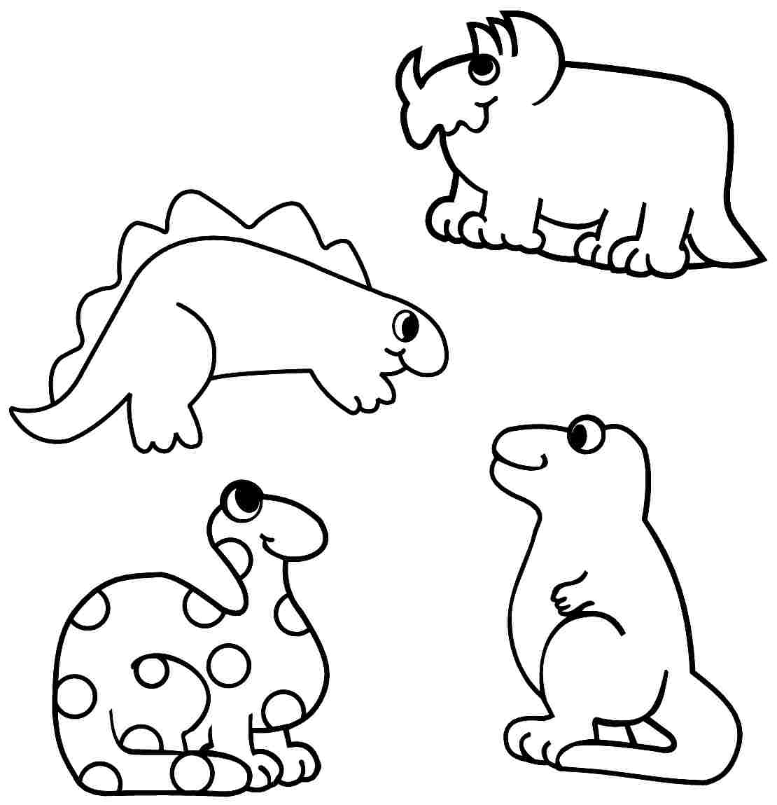 Big Dinasour Coloring Pages Beautiful Dinosaur Preschool Fo Gallery Of Dinosaur Clipart Coloring Page Triceratop Pencil and In Color Gallery