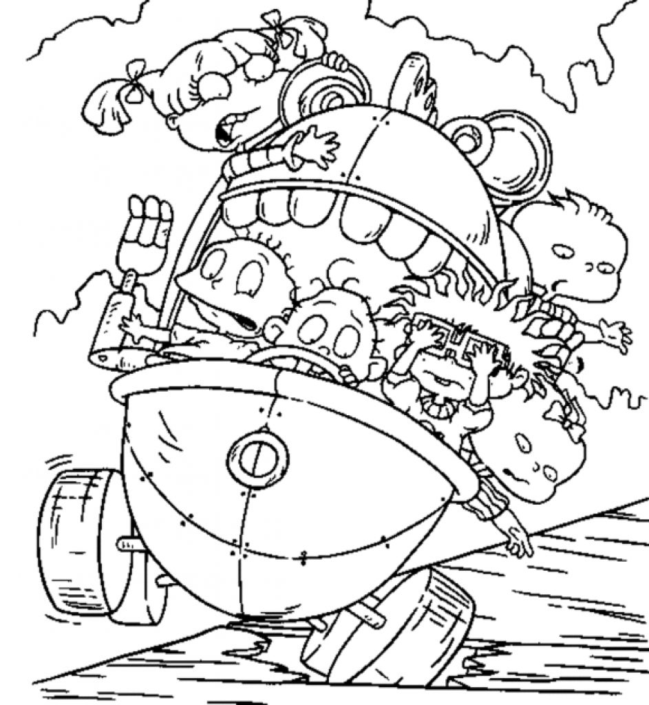 Nickalodeon Coloring Pages to Print 20f - Save it to your computer