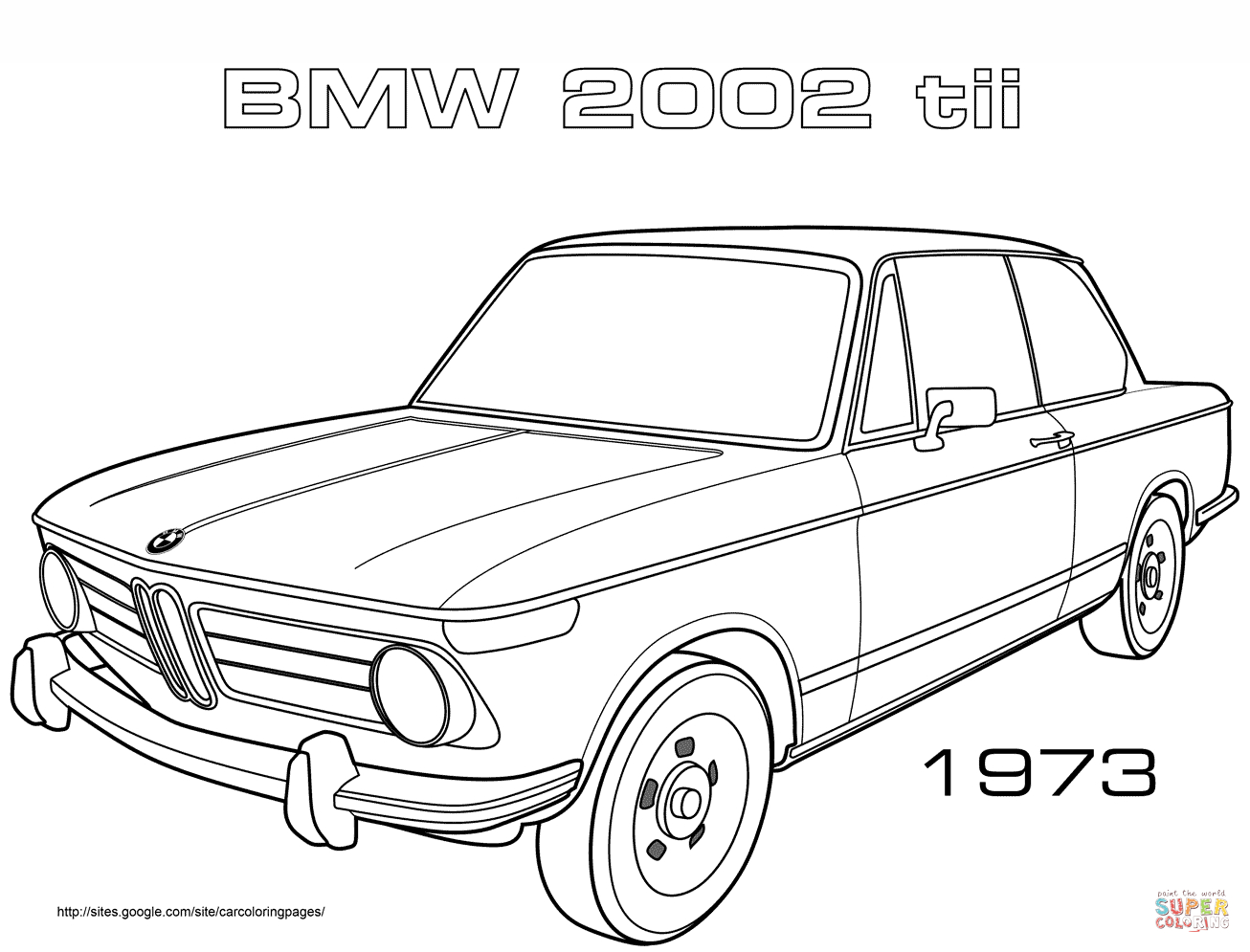 Bmw Car Coloring Pages Gallery 16n - To print for your project