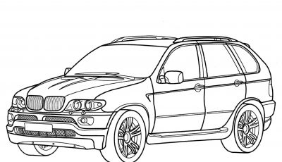 Bmw Car Coloring Pages - Bmw X5 Coloring Page Gallery
