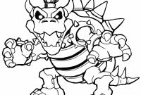 Mario Coloring Pages - Bowser Coloring Bowser Coloring Pages Dry Bowser Mario Coloring Collection