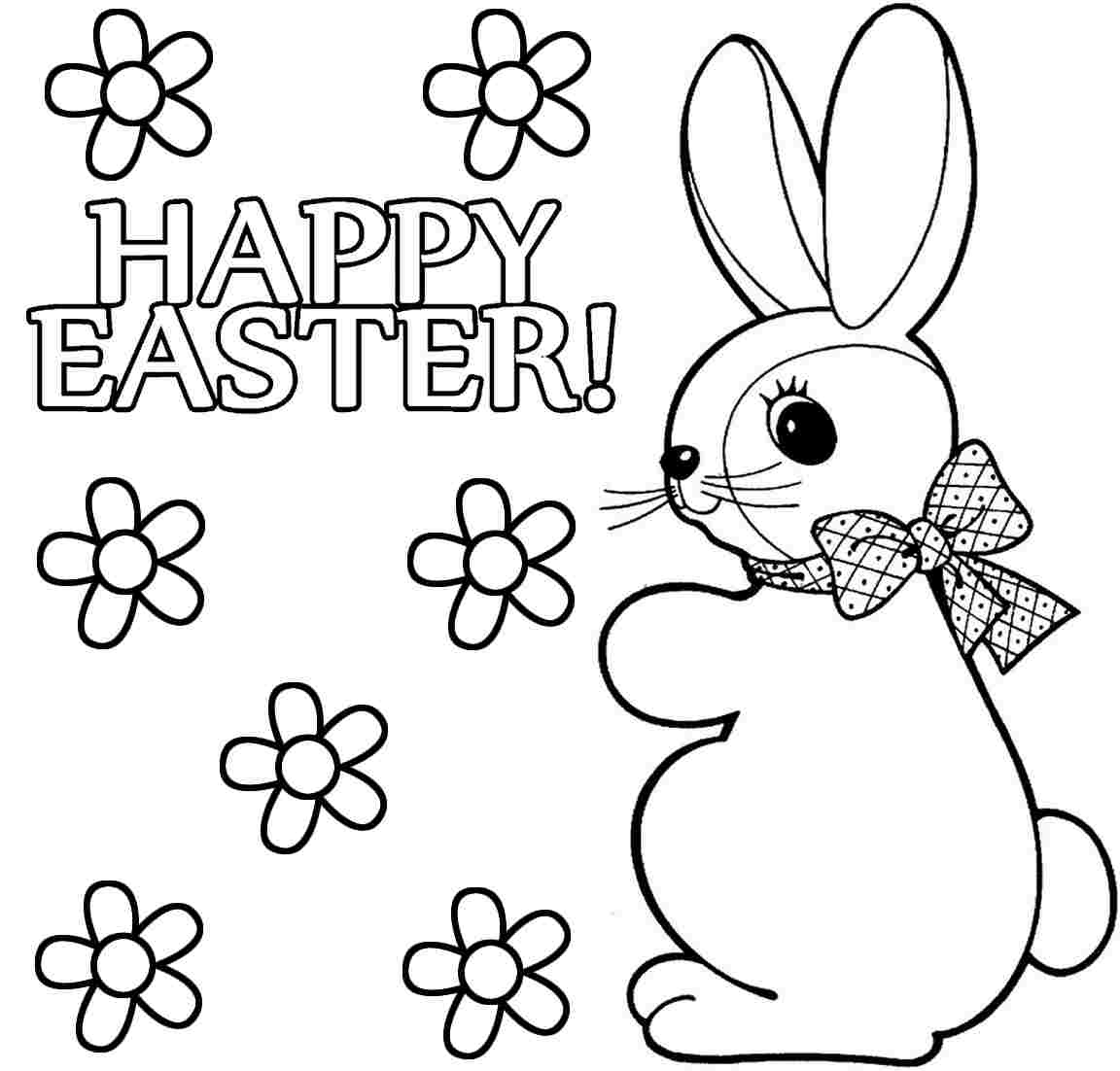 Brilliant Easter Bunny Coloring Pages Printable with within to Print Gallery Of Easter Egg Designs Coloring Pages to Print
