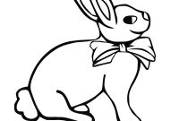 Coloring Pages Of A Rabbit - Bunny Drawing for Kids at Getdrawings to Print