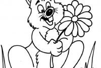 Coloring Pages Of A Rabbit - Bunny Rabbit Coloring Pages Printable