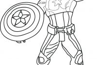 Printable Avengers Coloring Pages - Captain America Coloring Pages Lego Colouring Page for Avenger Print Download