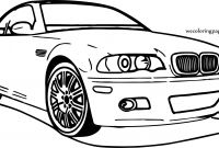Bmw Car Coloring Pages - Car Bmw Perspective Coloring Page Gallery
