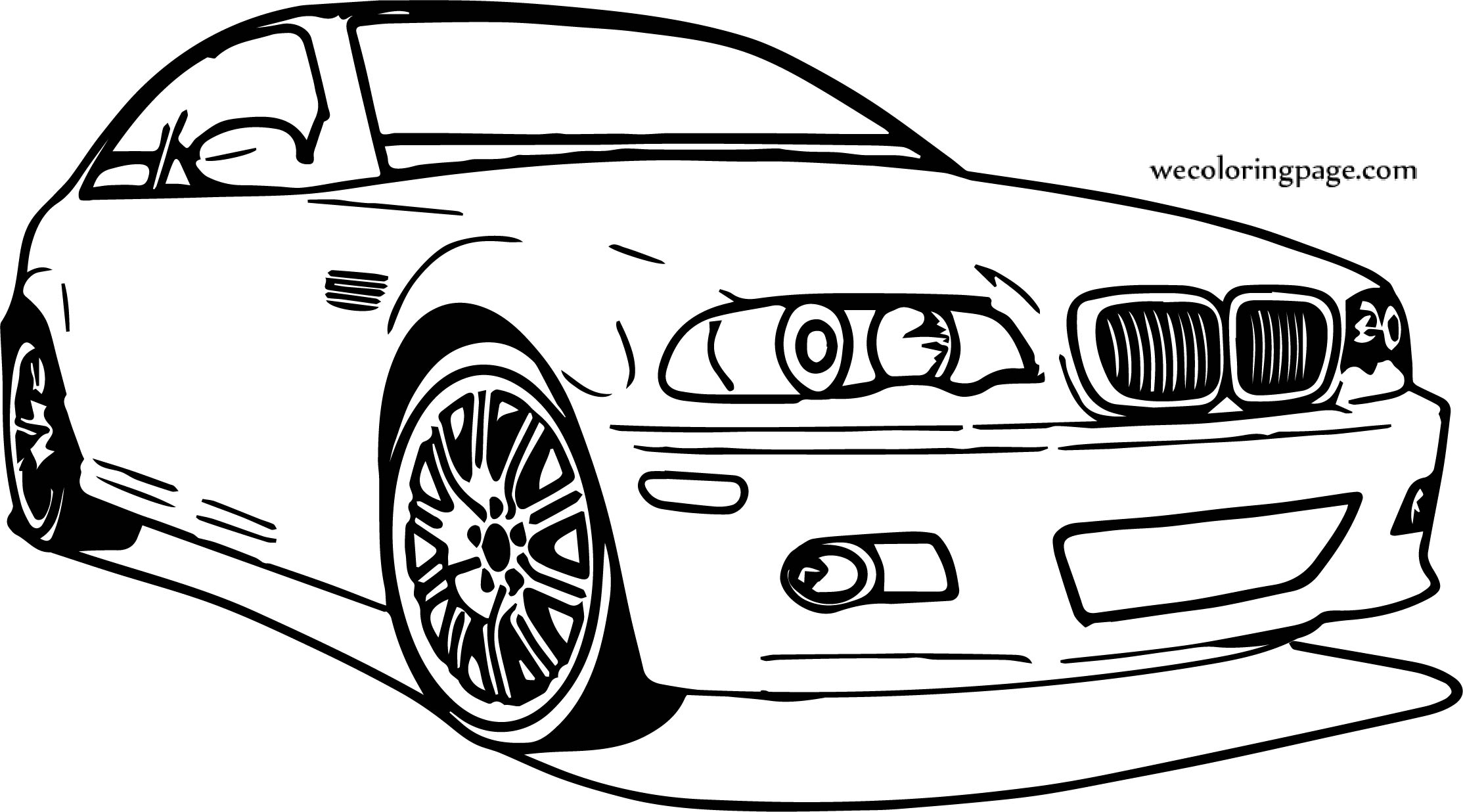 Bmw Car Coloring Pages Gallery | Free Coloring Sheets