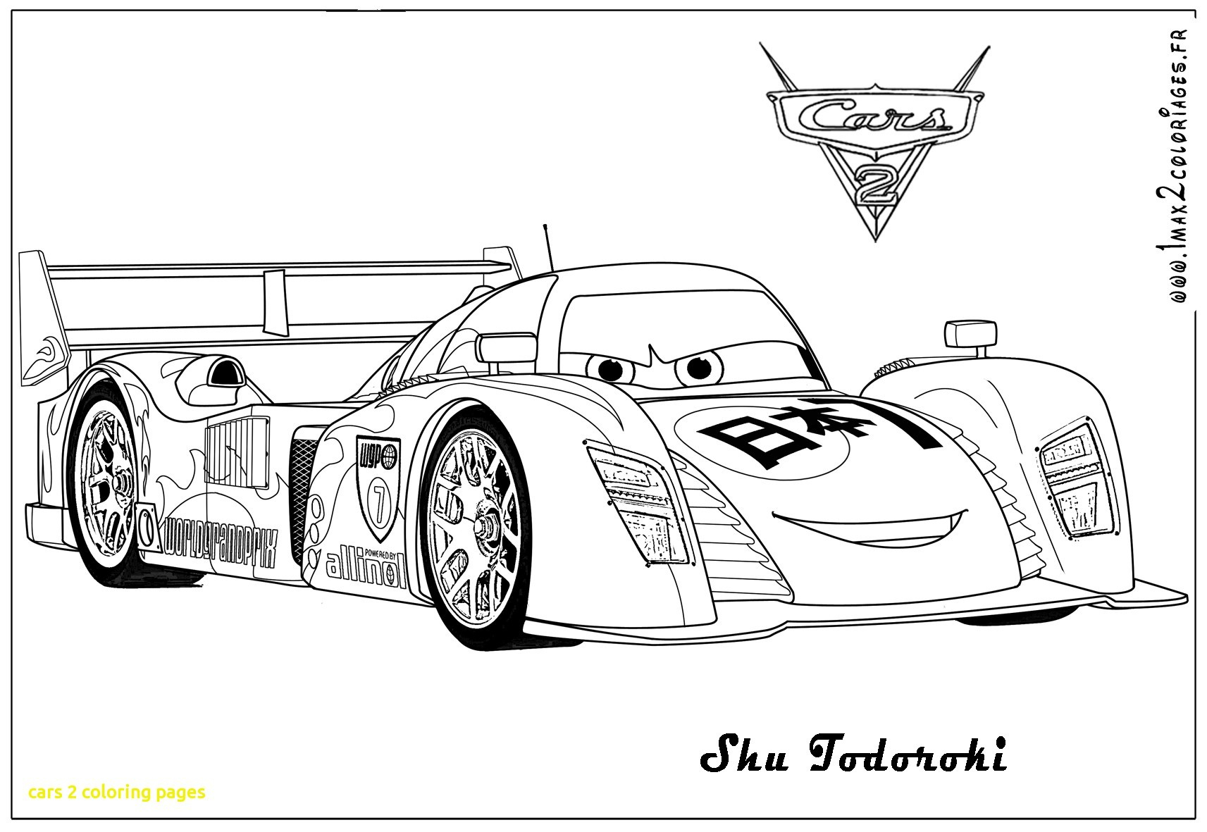 Coloring Pages Cars 2 - Cars 2 Coloring Pages with Cars 2 Coloring Pages with Cars 2 Gallery