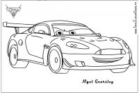 Coloring Pages Cars 2 - Cars 2 to Color 14 Nigel Cars 2 Mcqueen Coloring to Print