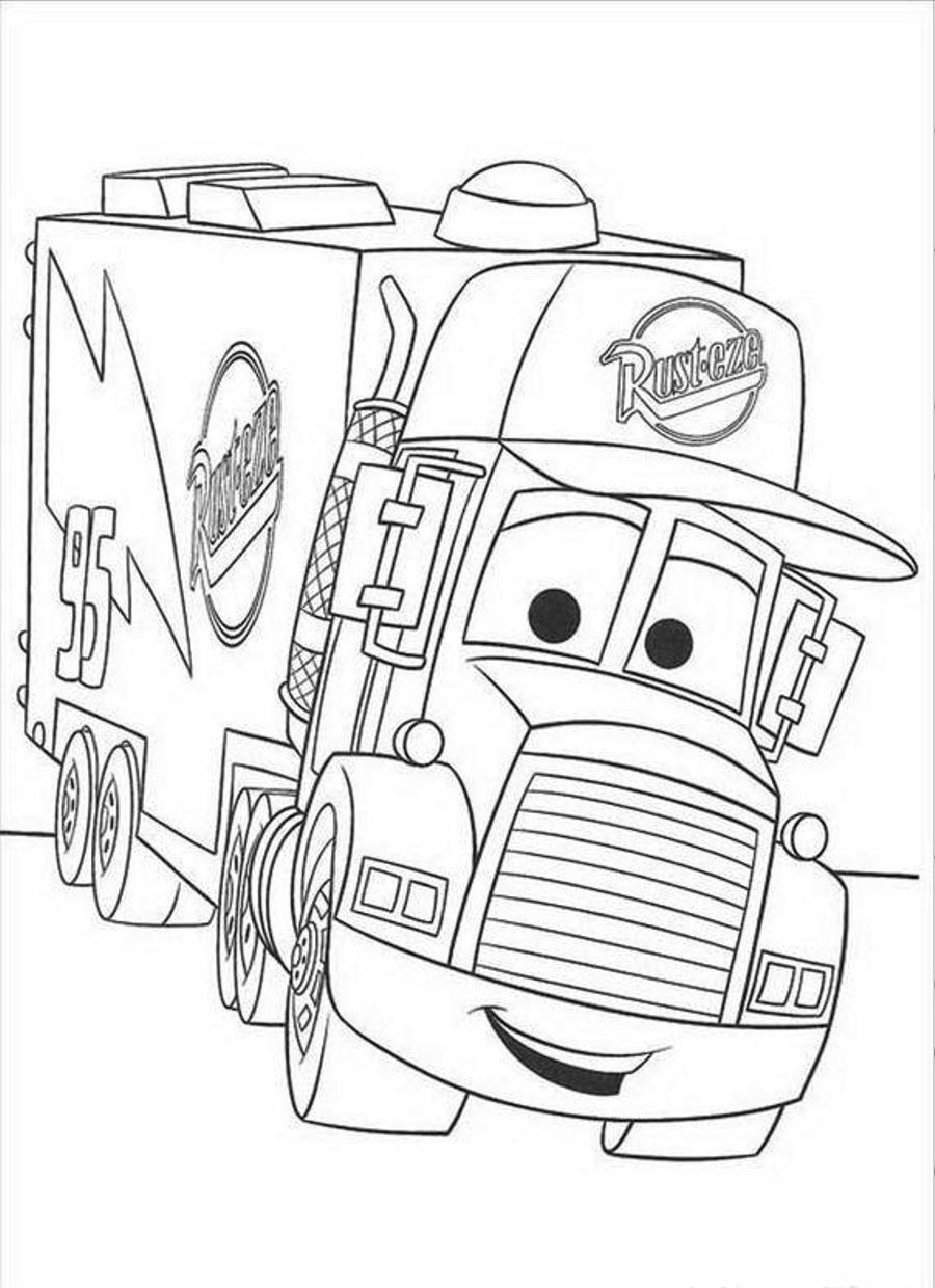 Cars Movie Coloring Pages to Print Download Of Car Coloring Pages Disney Cars the Movie to Print Grig3 Download