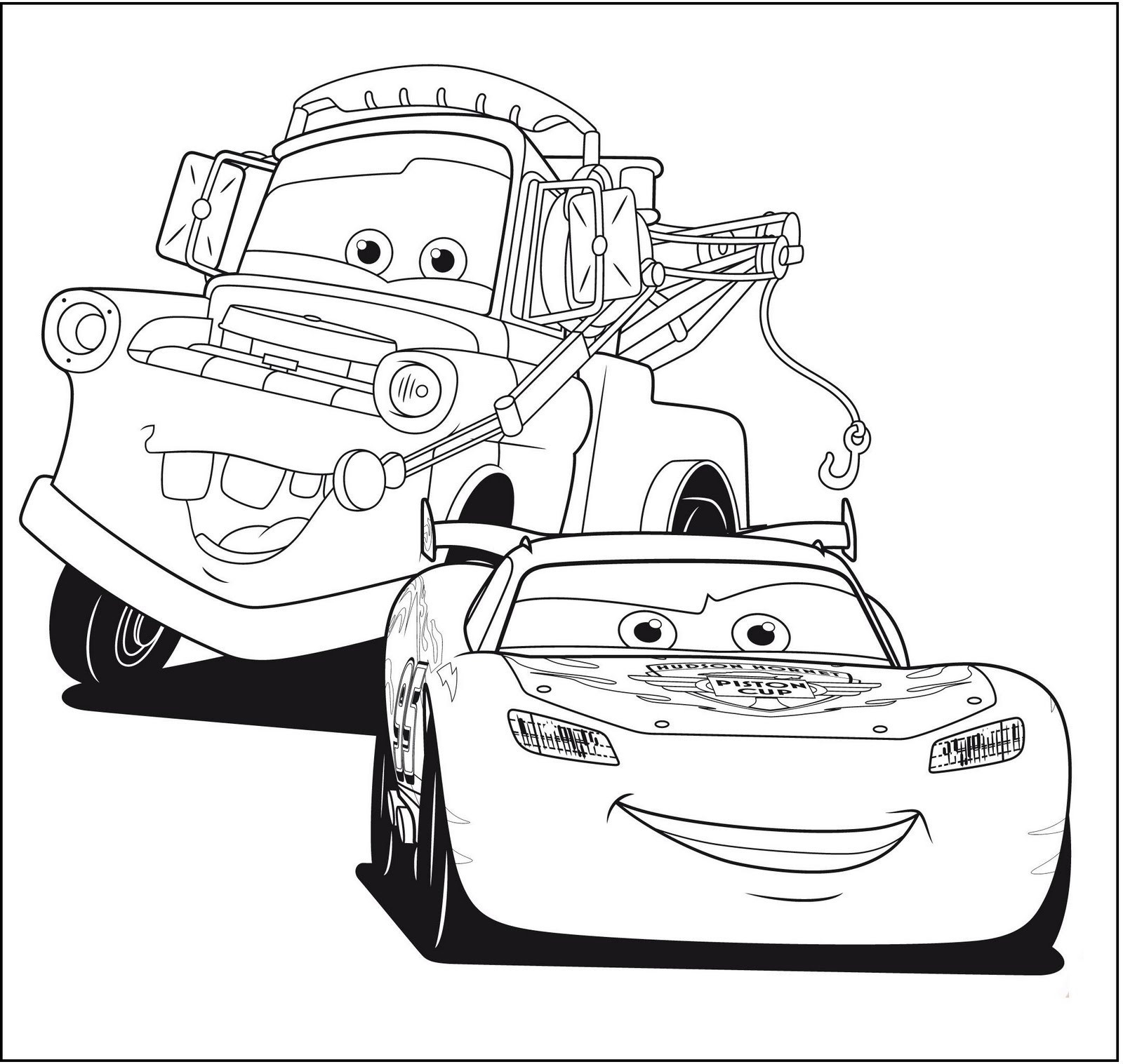 Cars Movie Mater Coloring Pages Page Kids Magnificent Disney Inside Collection Of Car Coloring Pages Disney Cars the Movie to Print Grig3 Download