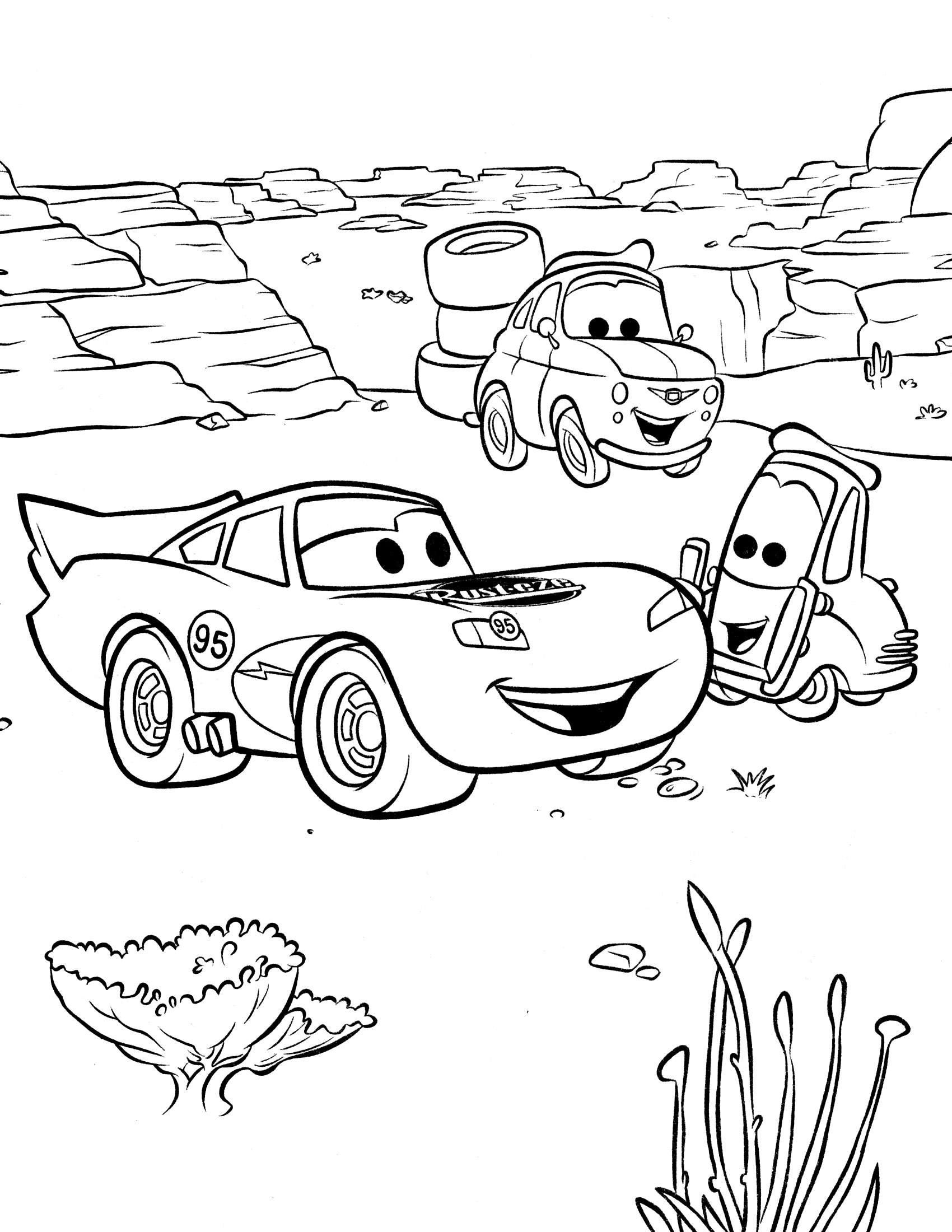 Cars The Movie Coloring Pages Elegant Printable Collection Of