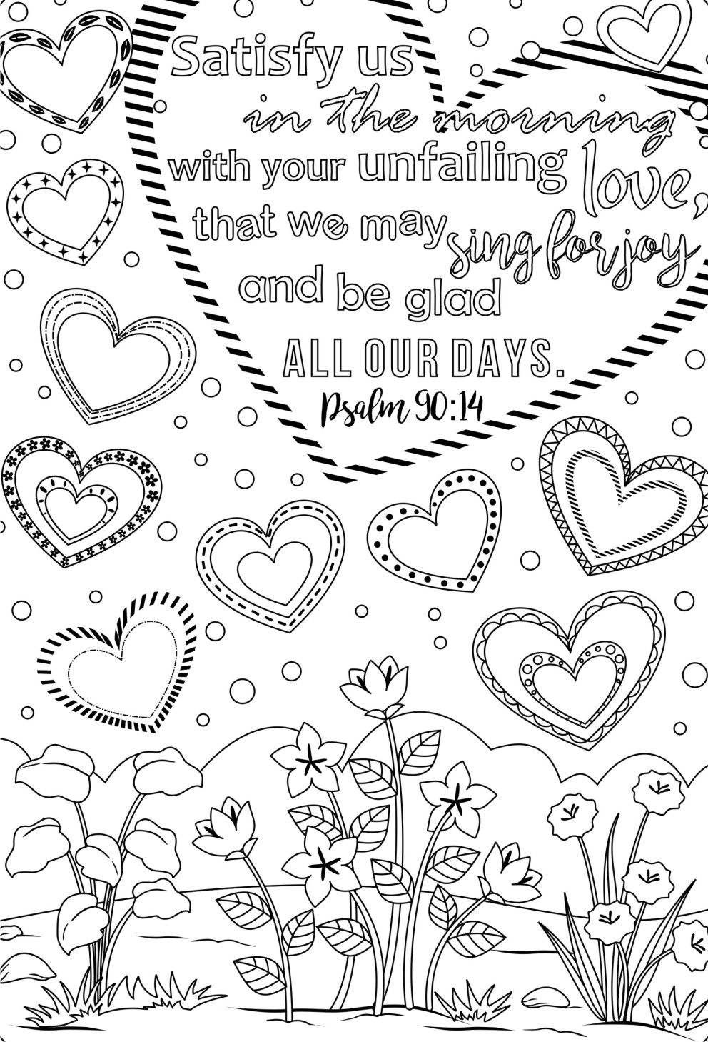Christian Coloring Pages for Adults Coloring Pages Gallery Of Free Printable Adult Coloring Pages Hymns & Scripture Our Printable
