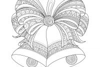 Christmas Coloring Pages Printable Free - Christmas Coloring Pages for Adults to Print
