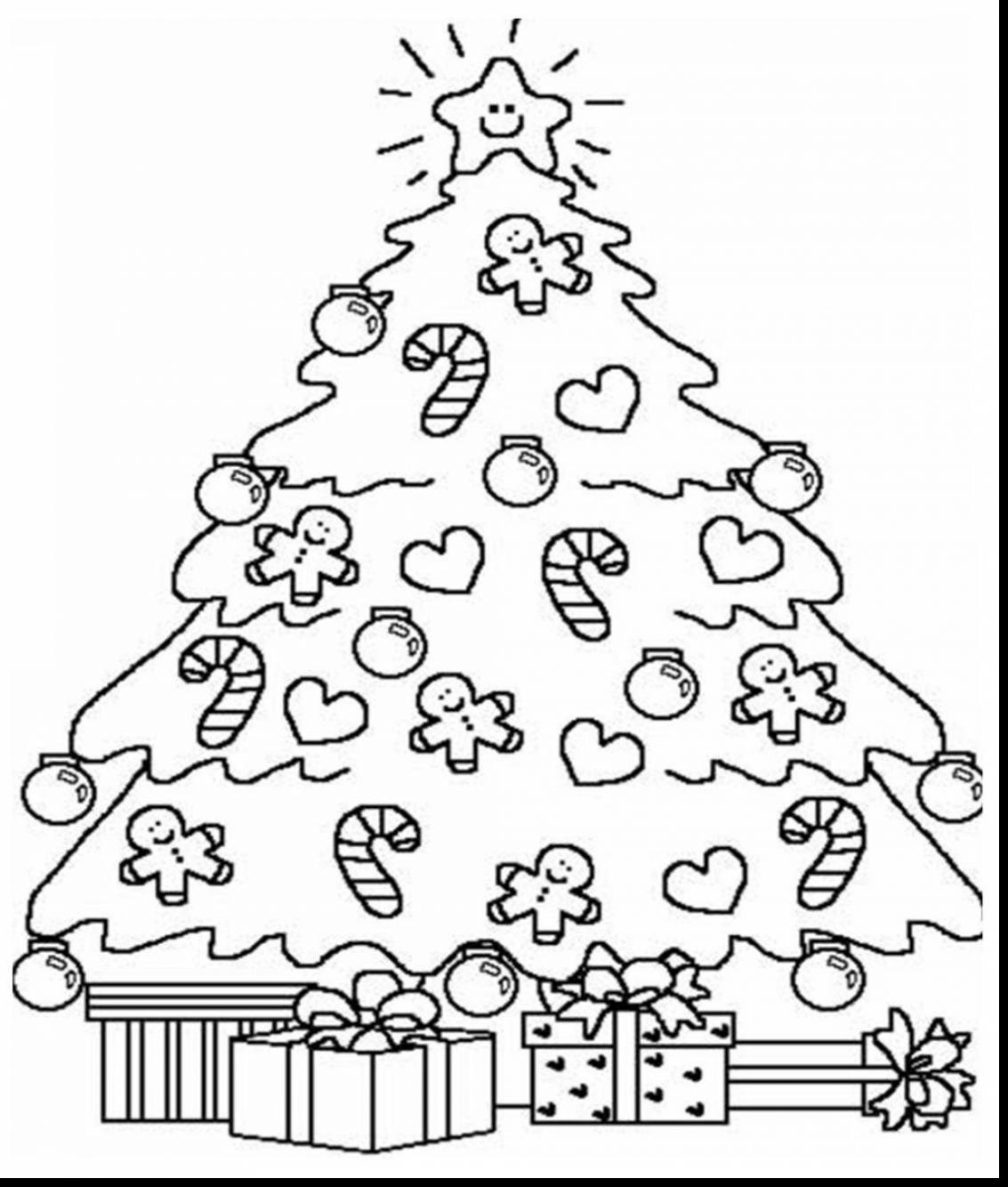 Christmas Tree Coloring Pages Printable Coloring Pages Fascinating to Print Of Noted Coloring Picture A Tree Pages Unknown Resolutions Printable