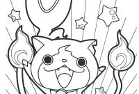 Yo Kai Watch Coloring Pages - Coloriage Yo Ka¯ Watch Gratuits   Imprimer Yokaiwatch Coloringpage Printable
