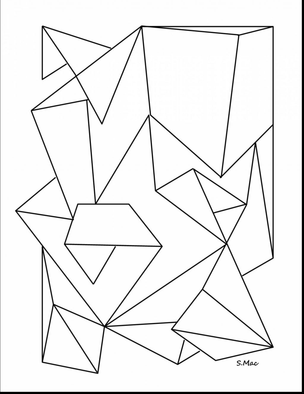 Coloring Book and Pages Classy Geometric Coloring Pages for Adults Collection Of Stress Relief Coloring Pages Animals Funny Coloring Pages Printable