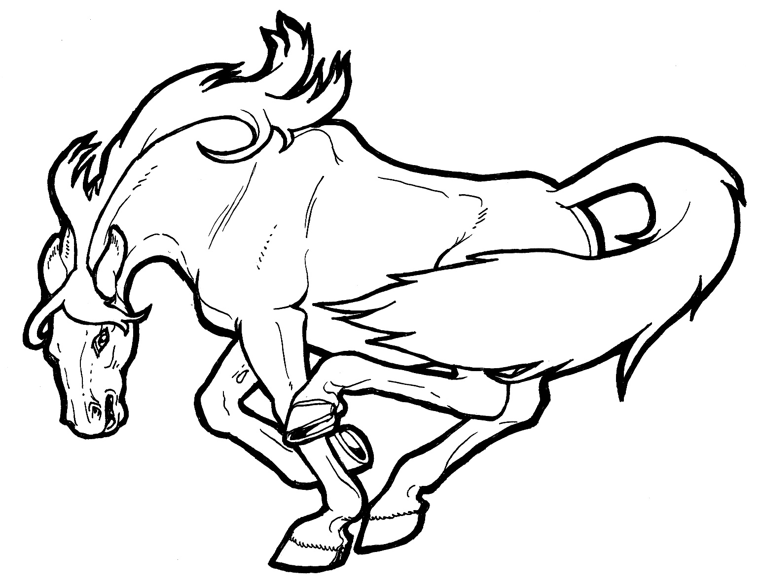 coloring pages printable horses | Coloring Pages Of Horses Printable | Free Coloring Sheets
