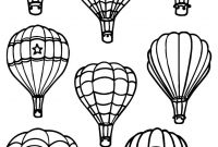 Hot Air Balloon Coloring Pages - Coloring Books and Pages astonishing Hot Air Balloonring Pages Gallery