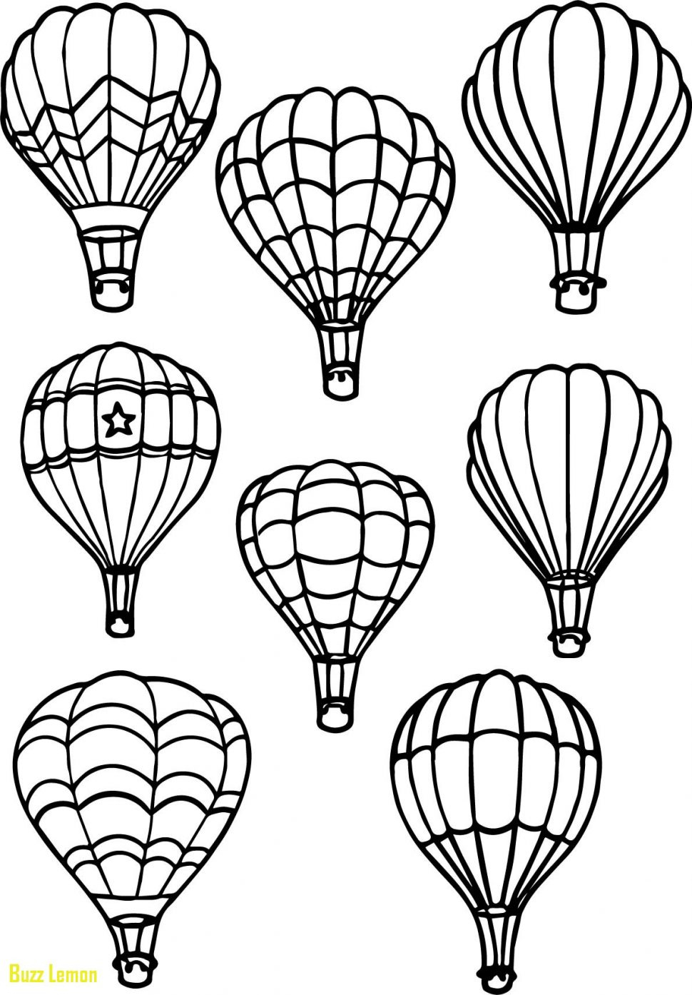 Coloring Books and Pages astonishing Hot Air Balloonring Pages Gallery Of Fresh Hot Air Balloons Coloring Pages Collection to Print