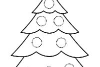 Tree Coloring Pages - Coloring Christmas Tree Idealstalist Gallery