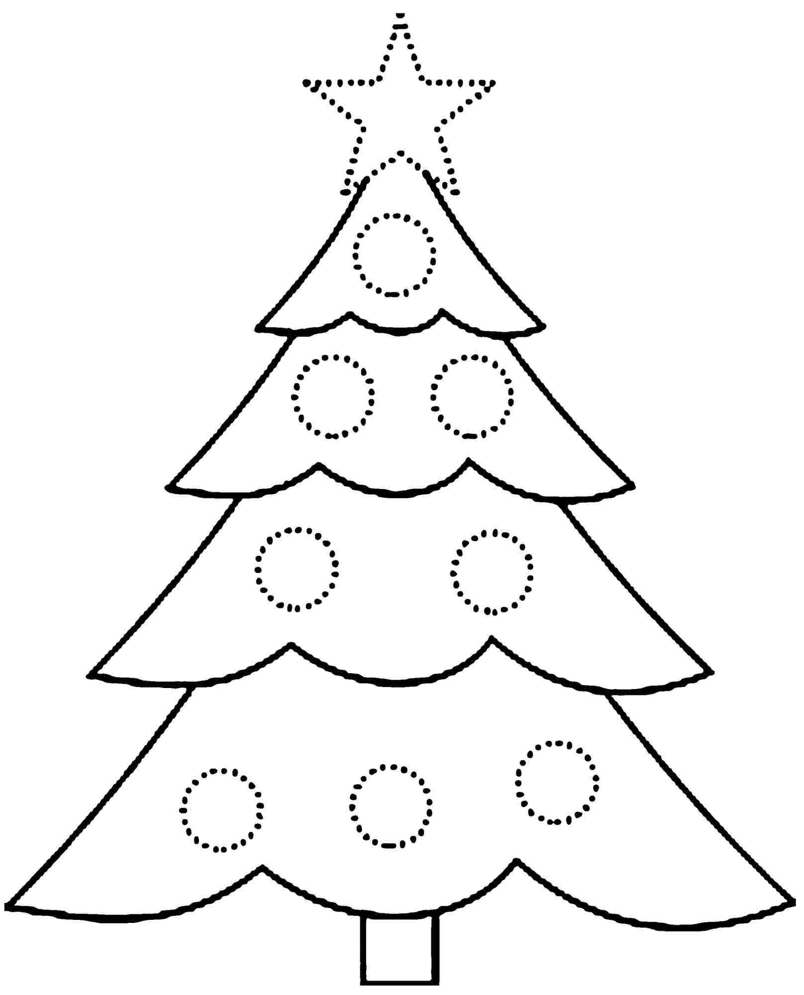 Coloring Christmas Tree Idealstalist Gallery Of Noted Coloring Picture A Tree Pages Unknown Resolutions Printable