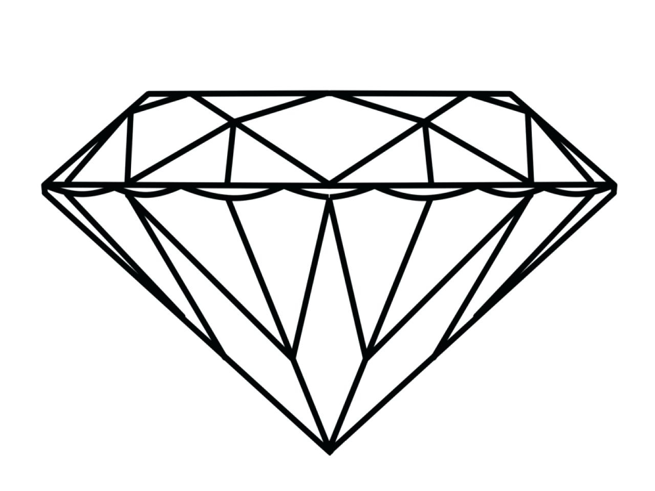 Coloring Page Diamond Coloring Pages Diamond Tiara Coloring Pages ...
