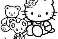 Hello Kitty Free Printable Coloring Pages - Coloring Page Free Printable Coloring Pages for Girls Hello Kitty to Print