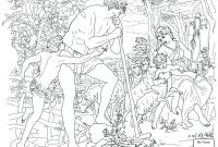 Adam and Eve Coloring Pages - Coloring Pages Adam and Eve Coloring Pages for Kids Bible Mourn Collection