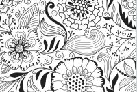 Abstract Coloring Pages Online - Coloring Pages Adult Coloring Pages Flowers Abstract A to Print
