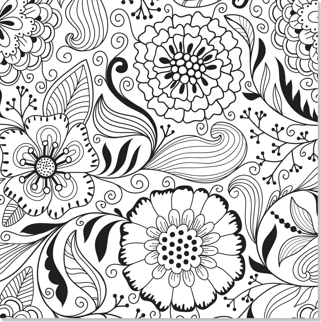 Hard Coloring Pages Abstract Coloring Pages Line