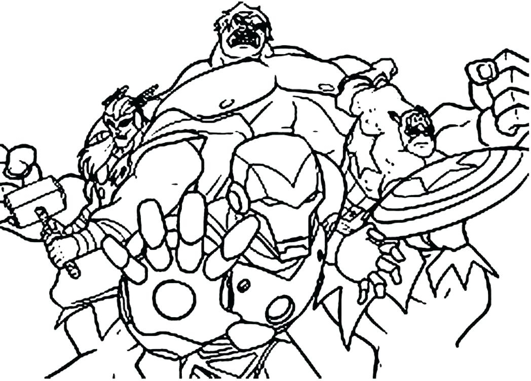Printable Avengers Coloring Pages to Print | Free Coloring Sheets
