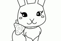 Coloring Pages Of A Rabbit - Coloring Pages Bunny Collection