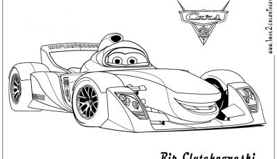 Coloring Pages Cars 2 - Coloring Pages Cars 2 5 Printable