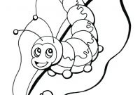 Printable Caterpillar Coloring Pages - Coloring Pages Caterpillar Coloring Page Drawn 4 Pages Printable to Print