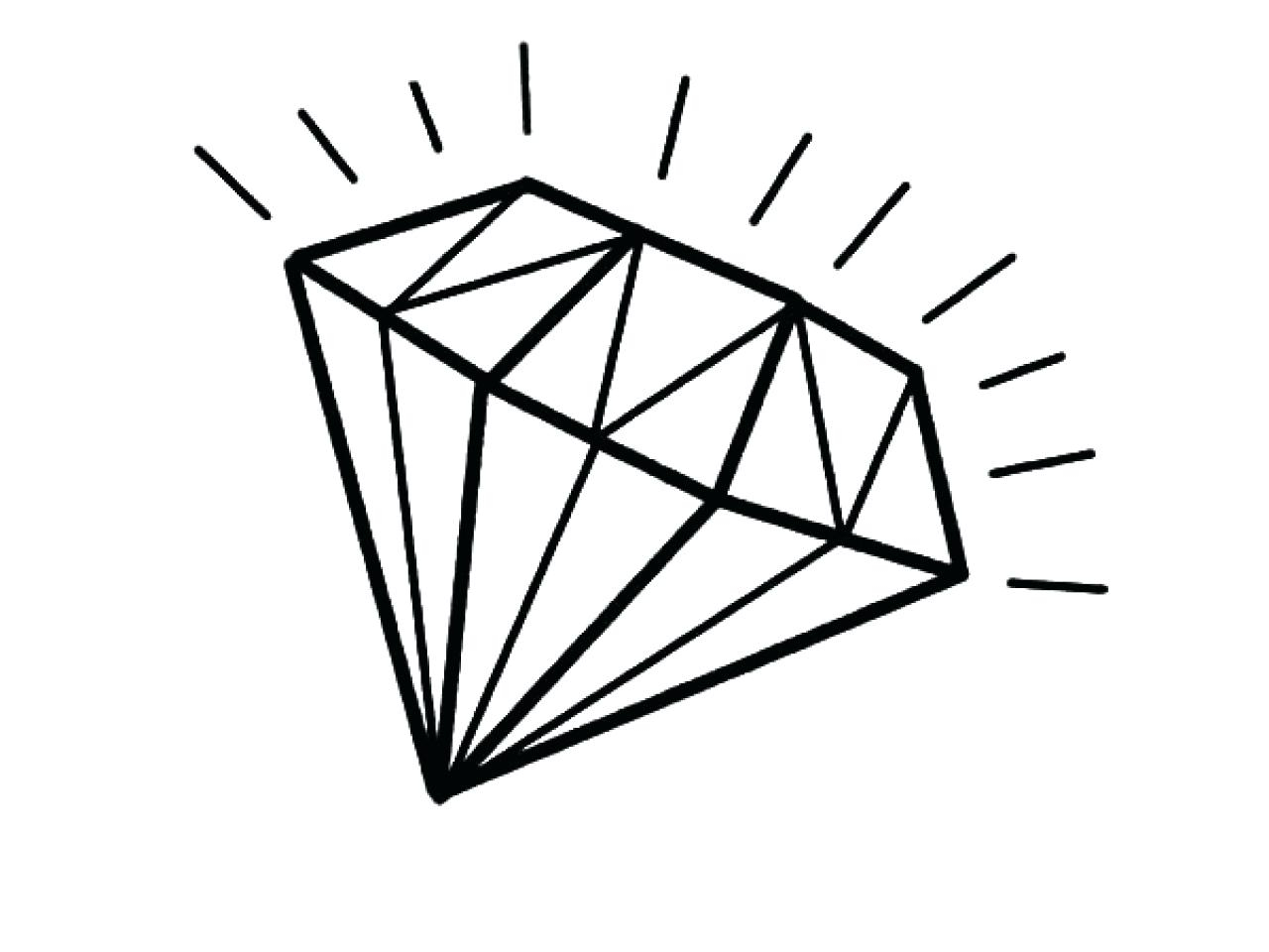 Diamond Coloring Pages Gallery 6h - Free For Children