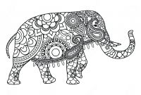 Elephant Mandala Coloring Pages - Coloring Pages Elephant and Piggie World Day Elephants for Adults Collection