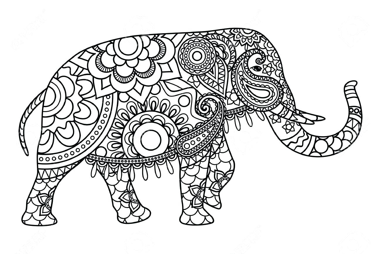 Awesome Coloring Pages Elephant And Piggie World Day Elephants For Adults Collection