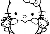 Hello Kitty Free Printable Coloring Pages - Coloring Pages for Kids to Print Out Hello Kitty Hello Kitty Heart Collection