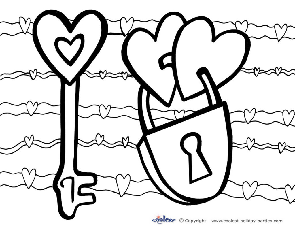 Coloring Pages for Valentines Printable Gallery Of I Love You Free Valentines S0189 Coloring Pages Printable Collection