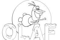 Free Coloring Pages Of Frozen - Coloring Pages Frozen Disney Olaf Gallery