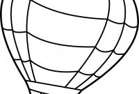 Hot Air Balloon Coloring Pages - Coloring Pages Hot Air Balloons Collection