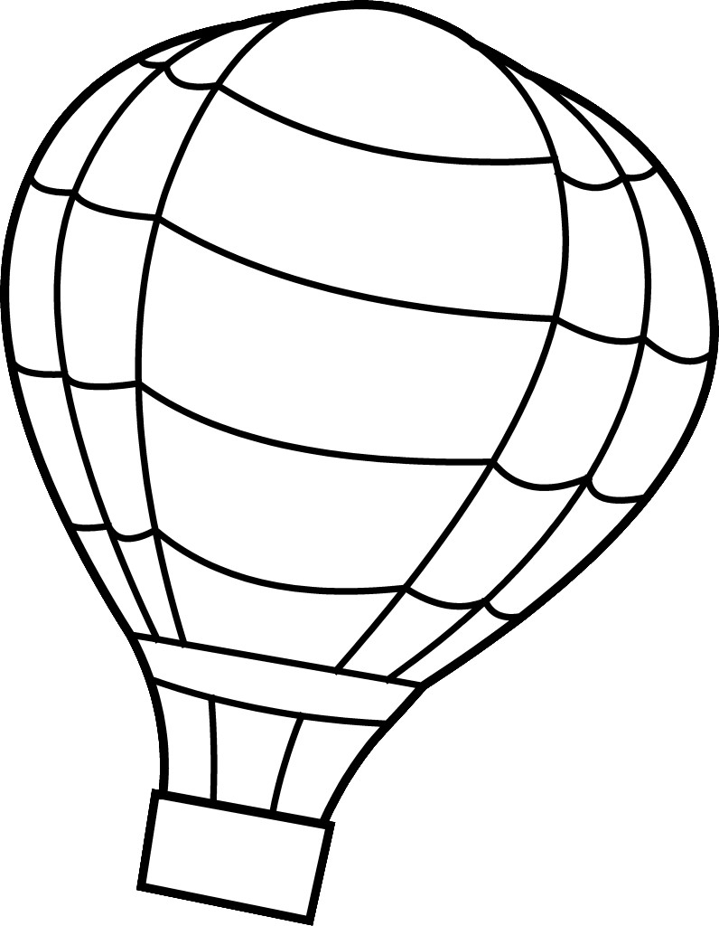 Coloring Pages Hot Air Balloons Collection Of Hot Air Balloon Coloring Page Collection