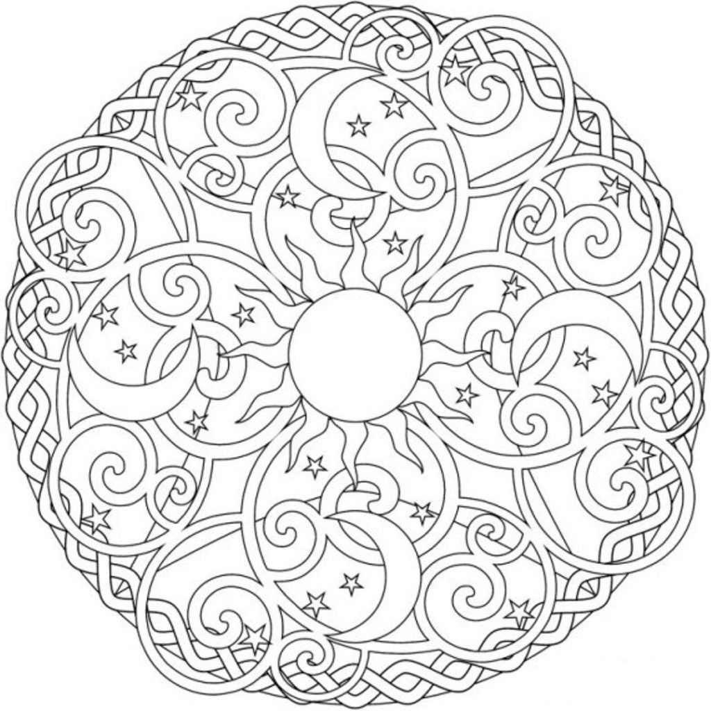 Coloring Pages Pleasing Printable Mandala Coloring Pages for Adults Collection Of Modern Intricate Mandala Coloring Pages Coloring for Good Mandala to Print