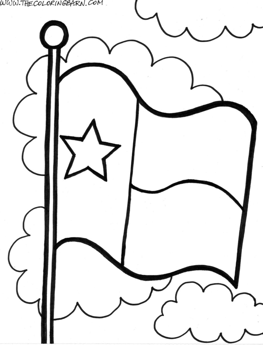 Texas State Seal Coloring Page Printable – Free Coloring Sheets